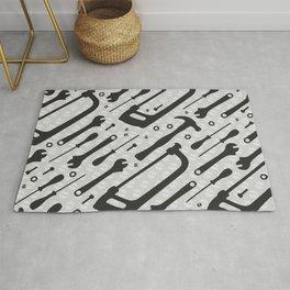 Tools Pattern Rug