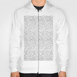 Black and White Spots Hoody