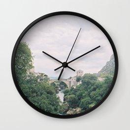 Mostar BiH II Wall Clock