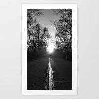 1000 Feet Per Second Art Print