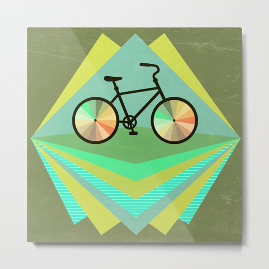 wanna ride my bicycle Metal Print
