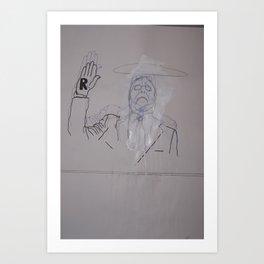 Lügner Art Print