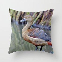 Canard Throw Pillow