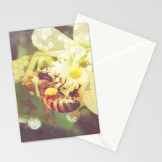 Honey Bee: Pearl Stationery Cards