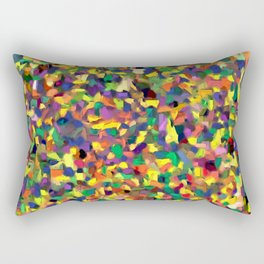 Multicolor Texture Rectangular Pillow