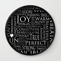 You Are All Of This And More!. Wall Clock