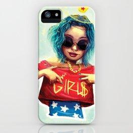Wonder girl iPhone Case