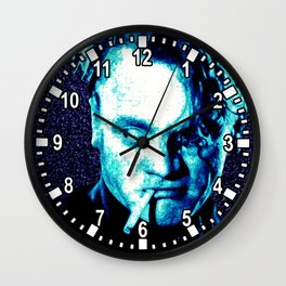James Cagney, blue Madness. Wall Clock