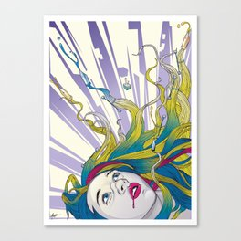 Crazy for Vector IV Canvas Print