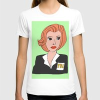 dana scully T-shirts featuring Dana Scully The X Files Fanart by peppernights