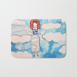 Sky Girl Bath Mat
