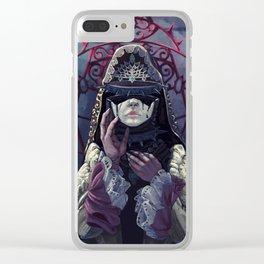 Venetian Rose Clear iPhone Case