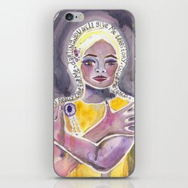 Eartha Kitt iPhone Skin