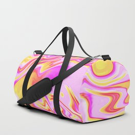 Psychedelic Summer Vibes Duffle Bag