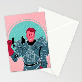 Lieutenant of the Bull's Chargers Stationery Cards