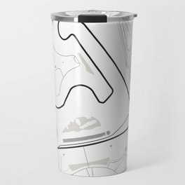 Shanghai International Circuit Jiading China Travel Mug