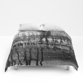 Grayscale Stains Comforters