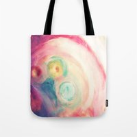 third eye Tote Bags featuring third eye by Mojca G. Vesel