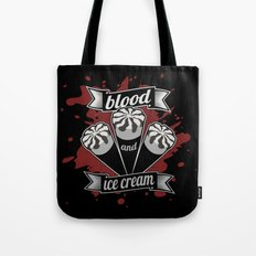 Blood & Ice Cream - Silver Variant Tote Bag