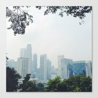 singapore Canvas Prints featuring singapore by MUSTARD TIGHTS PHOTOGRAPHY
