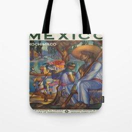 Vintage poster - Mexico Tote Bag