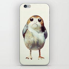 Porg on Ahch-To iPhone Skin