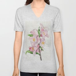 Blushing Beauties Unisex V-Neck