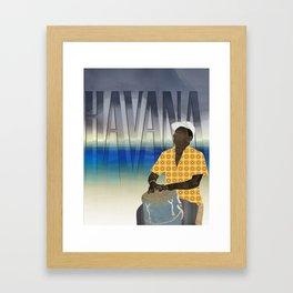 Havana Conguero Framed Art Print