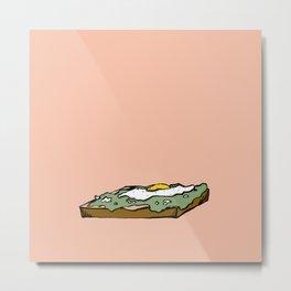 yes to Avocado Toast Metal Print