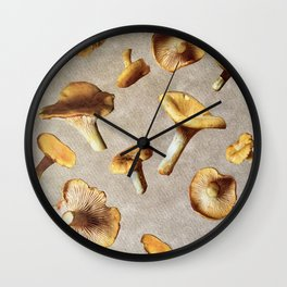 Holy Shiitake! Wall Clock
