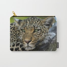 Aqua_Leopard_20180101_by_JAMColorsSpecial Carry-All Pouch