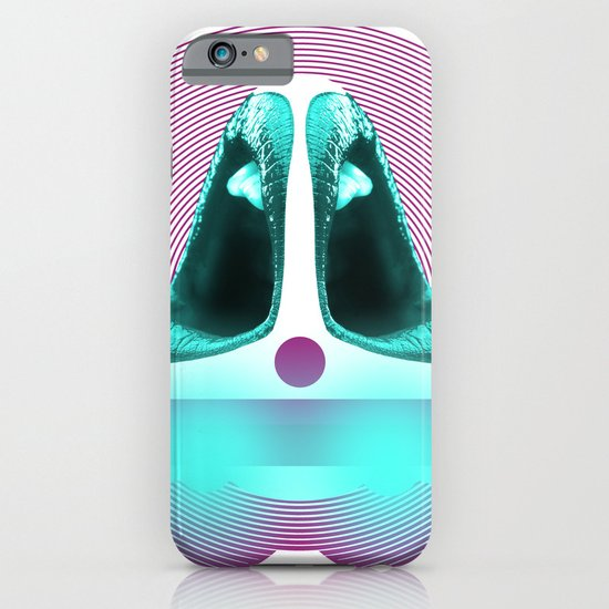 Lip Ship Lounger. iPhone & iPod Case