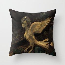 The Enigma of Paris  Throw Pillow