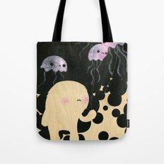 Jellyfish Wrangler Tote Bag