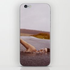 Swimmer in the Road iPhone & iPod Skin