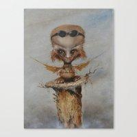 leonardo Canvas Prints featuring Leonardo by Ed Schaap