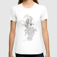 punk rock T-shirts featuring traditional punk rock amoeba by Lanny Quarles