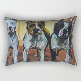 Amstaff 3 Rectangular Pillow