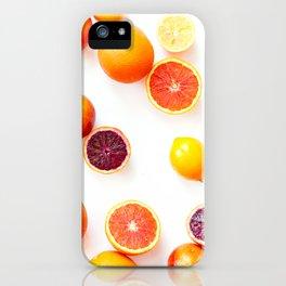Winter Citrus 1 iPhone Case