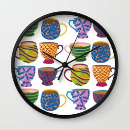 Comfort In A Cup Wall Clock