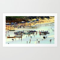 rowing Art Prints featuring Rowing Regatta by Chris' Landscape Images & Designs