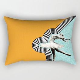 Flexible.Powerful.Beautiful Rectangular Pillow