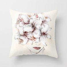 Flowers Women 23 Throw Pillow