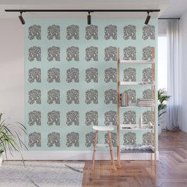 Ancient Golem Mythical Mythology Color Pattern Wall Mural