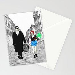 Leon and Matilda Stationery Cards