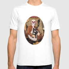 Guitar Reaper Mens Fitted Tee SMALL White