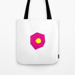 Giallo e rosa Tote Bag