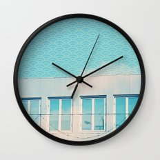 LA - Sky Above Wall Clock