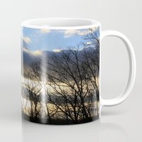 rileigh smirl Mugs featuring Sunset by Rileigh Smirl