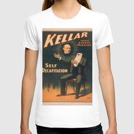 Vintage poster - Kellar the Magician, Self-Decapitation T-shirt